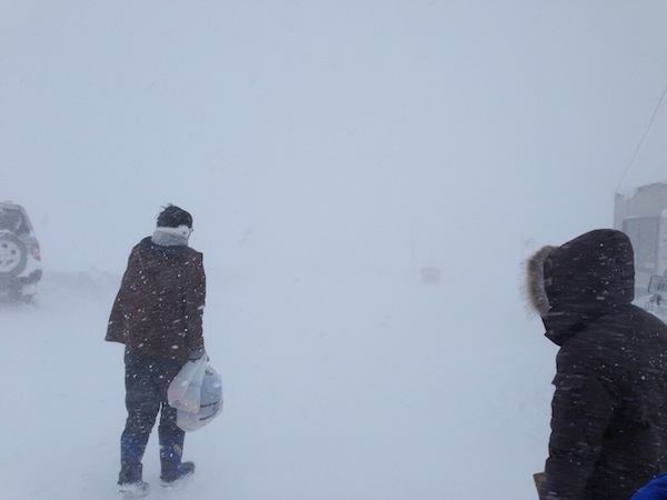 やばすぎる吹雪
