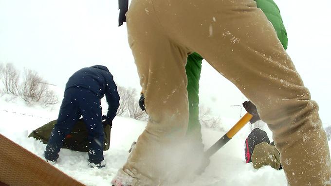 整地作業(除雪)
