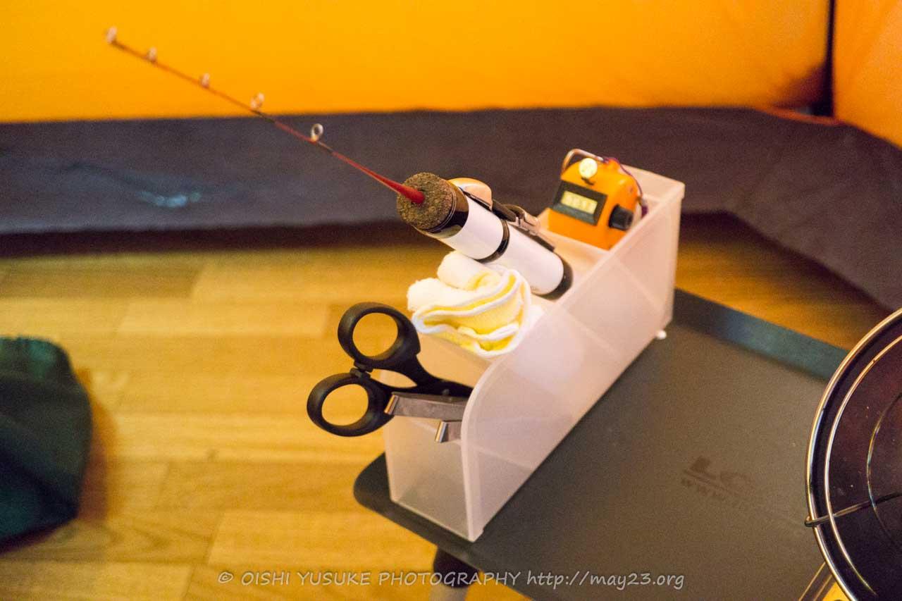 道具 ワカサギ 釣り