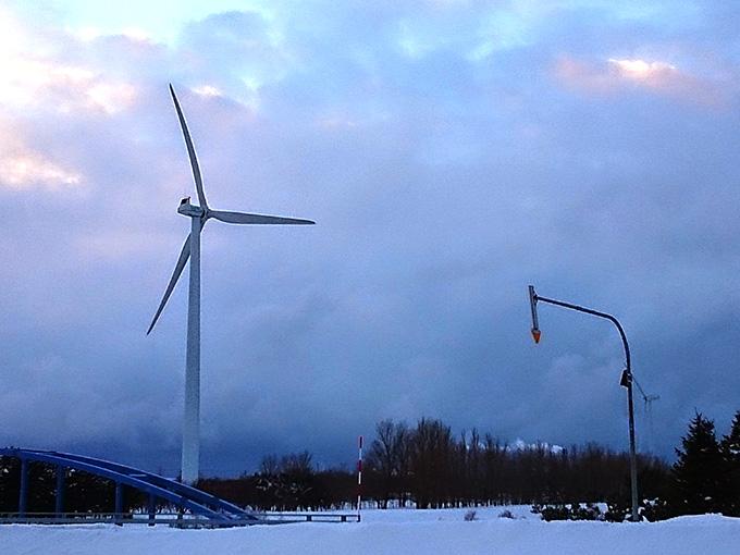 石狩の風車