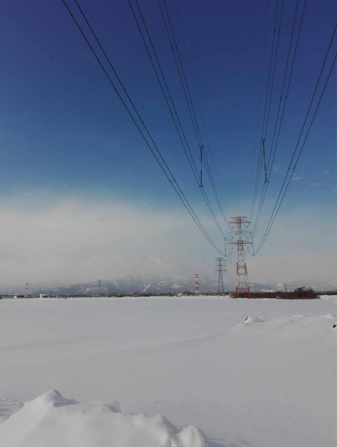 生振の鉄塔