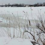 2017年1月2日の生振L字、氷が薄くて入釣は危険?