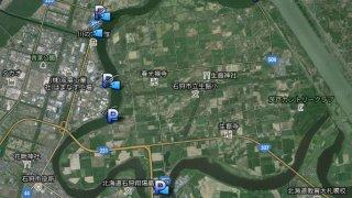 【ワカサギ釣り】札幌周辺、茨戸川ワカサギ釣り場マップ